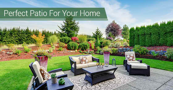 Perfect Patio For Your Home